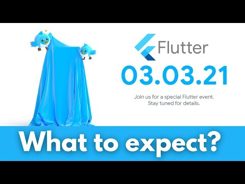 Flutter Event 03-03-2021   What to expect?