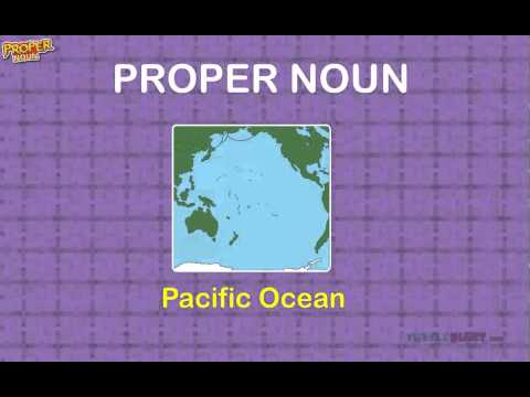 Proper Noun Game for Grade 2 Kids | Learn Proper Noun Words