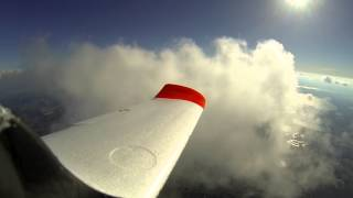 FInwing Penguin FPV up 7500 feet in the clouds