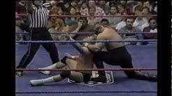 The Road Warriors vs Curt Henning & Baron Von Raschke,Hammond Civic Center 1984, Crowd Riot