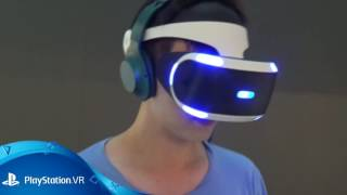 Anthony Huynh's first reactions to Sony Playstation VR