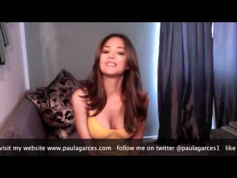 Paula Garces 2nd Health Video Blog
