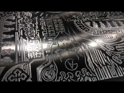 Aluminum cnc engraved