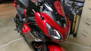 2016 Kawasaki Ninja 650 Mods and Walk Around