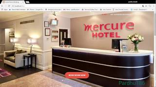 Demo website of Hotel room booking using HTML,CSS,PHP.