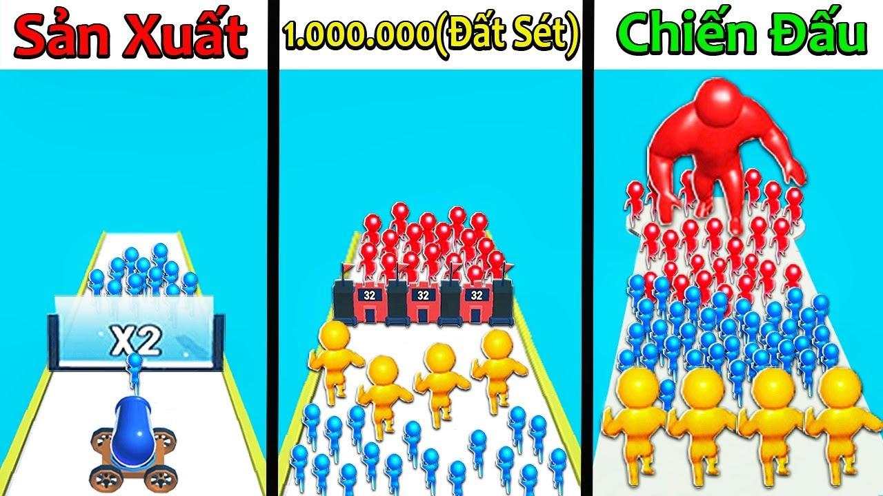 NẾU SLENDERMAN SỞ HỮU 1.000.000 NGƯỜI ĐẤT SÉT TÍ HON VIP NHẤT(MOB CONTROL)   Thử Thách SlenderMan