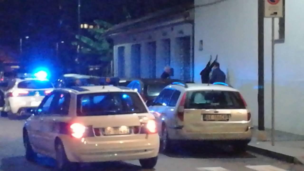 Albenga:Una tranquilla serata di paura: video #1