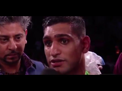 Amir Khan vs Canelo Alvarez Fight Post Interview [Full HD]