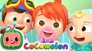 Laughing Baby with Family | CoCoMelon Nursery Rhymes & Kids Songs