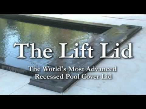 Lift Lid Automatic Swimming Pool Safety Cover System