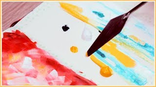 Easy Abstract Acrylic Painting Ideas You Can Try! Art Journal Thursday