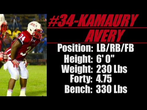 2016-'Street Light Recruiting' LB-RB- KAMAURY AVERY (6' 0''--230 Lbs) Wadley High School (AL)