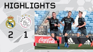 Highlights Real Madrid O19 - Ajax O19 (Youth League)