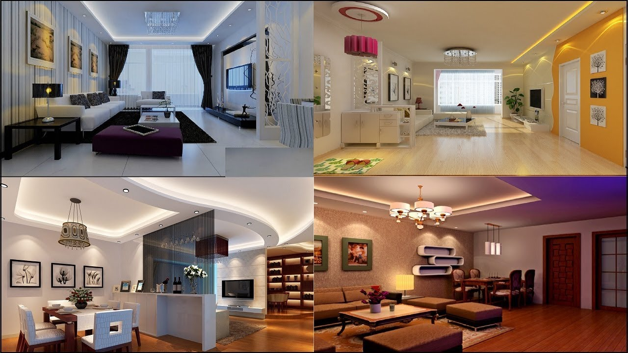 30 Modern Living Room Designs Decor Ideas Simple Ceiling
