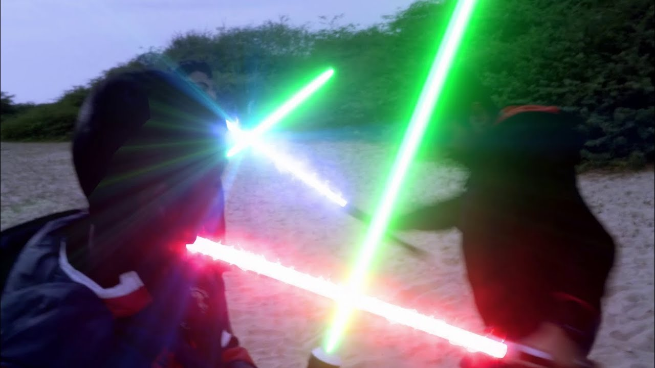 A LightSaber Duel Movie : Battle of Tenacity