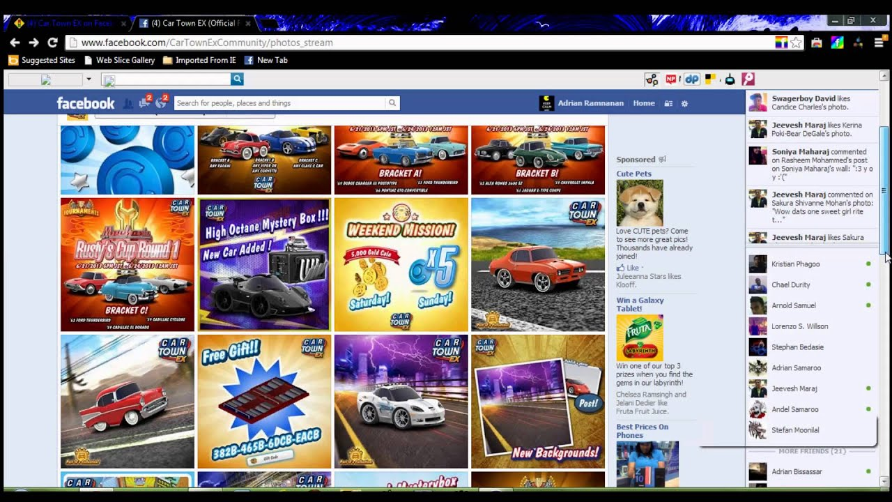 How to get free blue points in cartown ex promo code