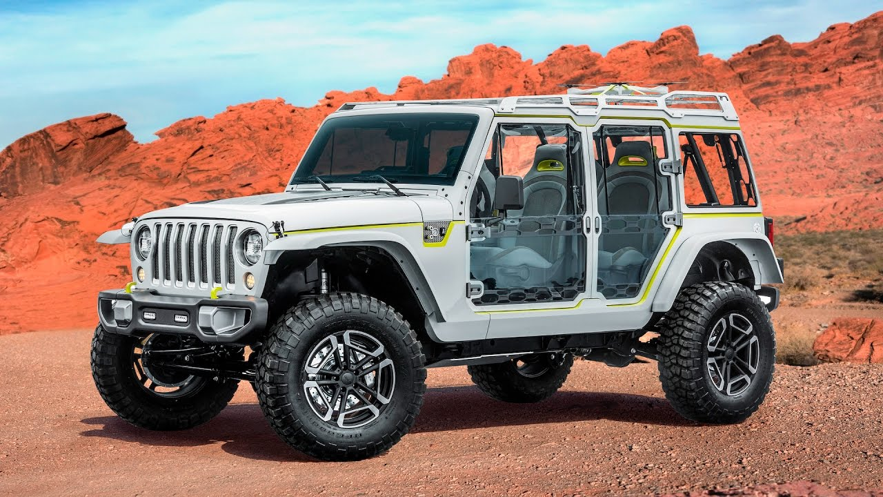 2018 Jeep Wrangler Grille Hides In Plain Sight Easter Safari Concepts 1080q
