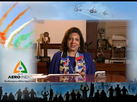Biocon Chairperson Kiran Mazumdar-Shaw on Aero India 2019 | English Version | DD Chandana