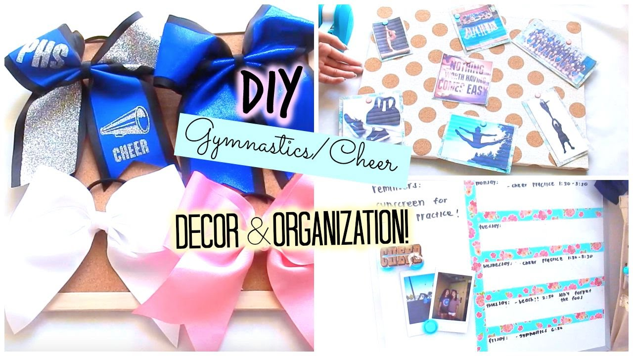 DIY Gymnastics/Cheer Decor U0026 Organization!!   YouTube