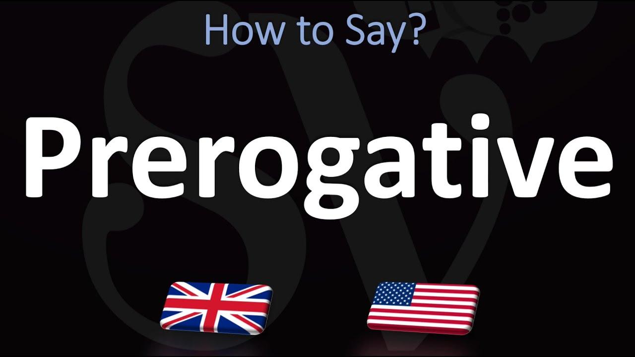 How to Pronounce Prerogative? (12 WAYS!) UK/British Vs US/American English  Pronunciation