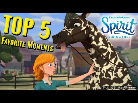 My Top 5 Favorite Moments from Spirit Riding Free Season 5 - Kid's Netflix Animated Horse Series