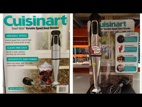 Cuisinart Smart Stick Variable Speed Hand Blender @ Costco $19.99  Review