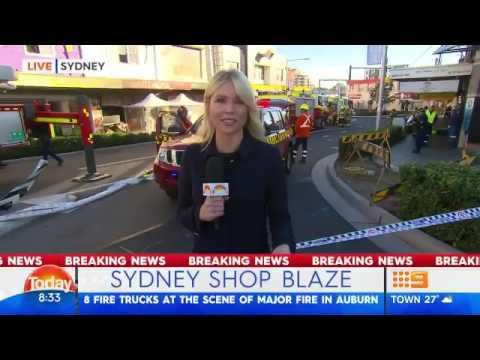 Sydney Auburn fire2