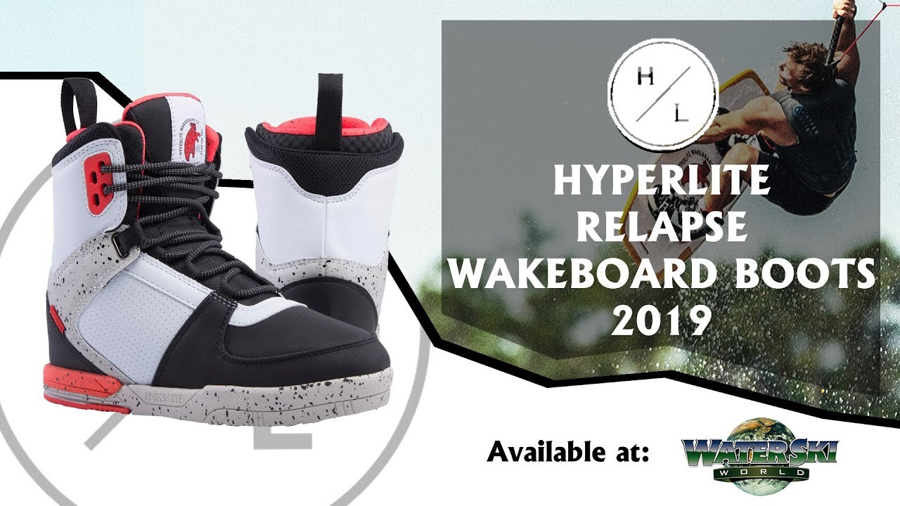 Hyperlite 2019 Relapse Wakeboard Boots