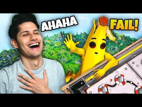 I FAIL PIÙ DIVERTENTI DI FORTNITE - Reaction Los Amigos