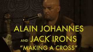Alain Johannes and Jack Irons - Making A Cross - LIVE at Studio Delux