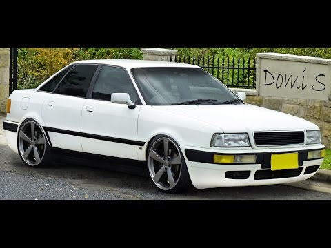 Photoshop CC - Virtual Car Tuning - Audi 80