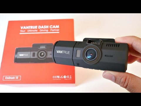VANTRUE ONDASH T2 - Car Dash Camera  - SONY IMX 323 - 1080p