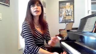 Teaching the J.S. Bach Sinfonia in c minor