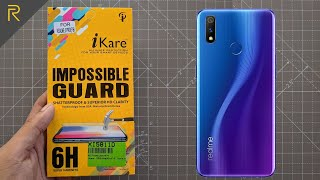 RealMe 3 Pro Screen Protector Front & Back | Best Tempered glass link provided