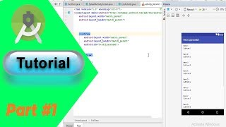 Android Studio:  Application Development Tutorial for Beginners |Urdu/Hindi| (2018)