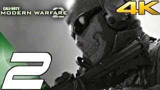 Call of Duty Modern Warfare 2 - Gameplay Walkthrough Part 2 - Wolverines & Hornet's Nest [4K 60FPS]