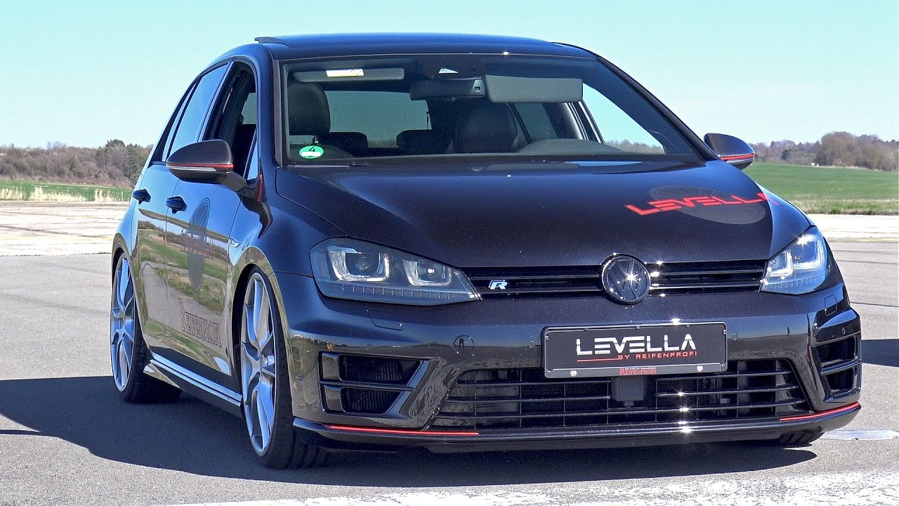 420hp volkswagen golf 7 r with full levella exhaust system. Black Bedroom Furniture Sets. Home Design Ideas