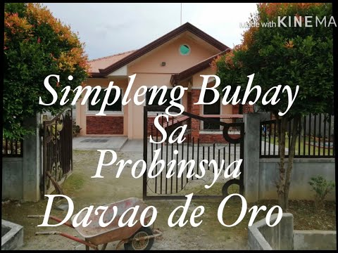 Simple Living in the Province of Davao de Oro, Stay at Home but Don't waste your time (Part 1)