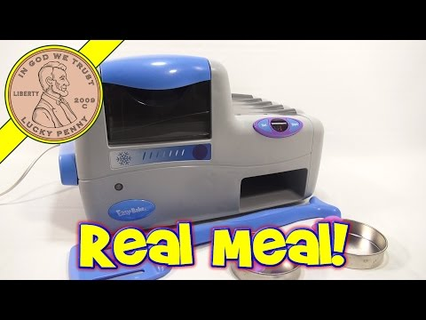 2003 Real Meal Easy Bake Oven! 3 Course Meal - Cookies, Pretzels and Pasta!