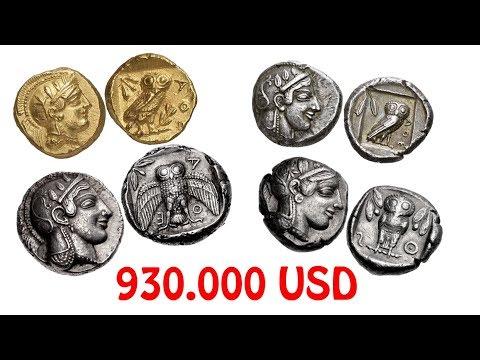 Athena Baykuşlu Tarihi Paralar ve Müzayede Değerleri | Attica Athens Ancient Owl Coins and Prices