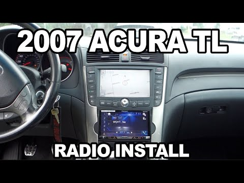 2007 Acura TL Type S Aftermarket Radio Install