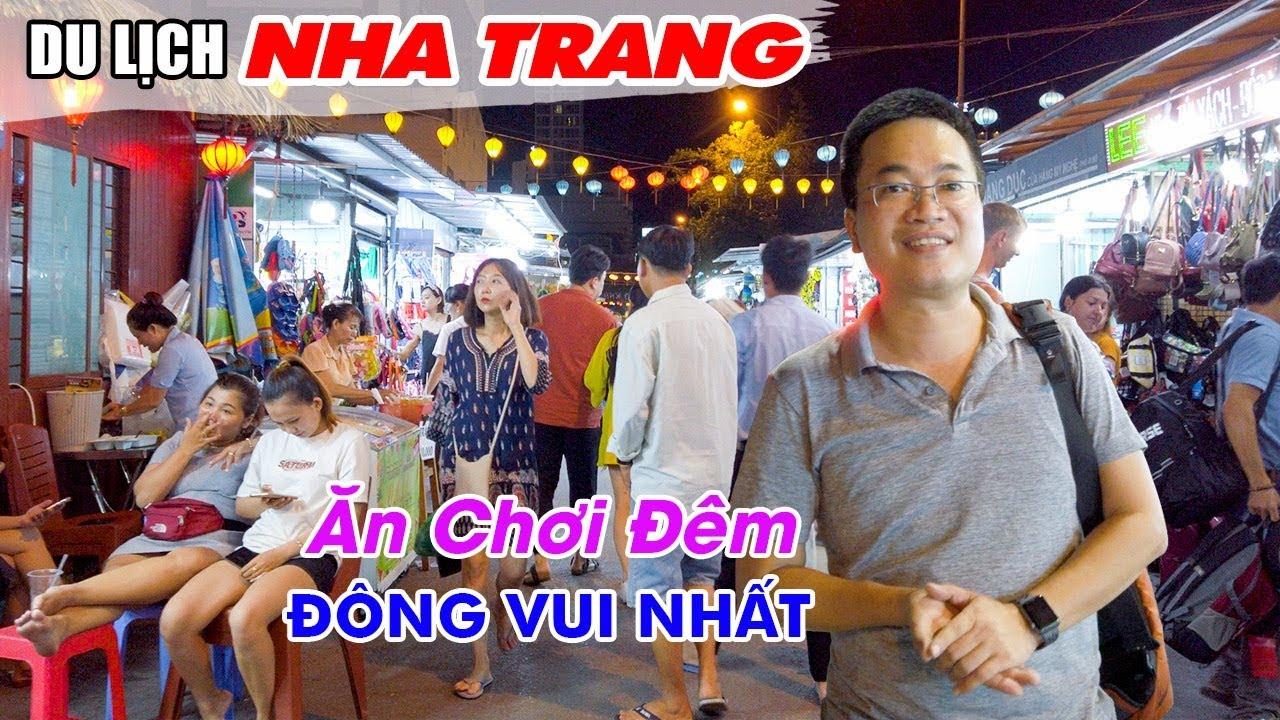 DU LỊCH NHA TRANG | Khám phá Chợ đêm Nha Trang mà ngỡ như đang ở nước ngoài