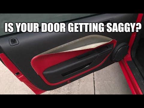 Fixing A 2005 Mustang Door Panel Youtube
