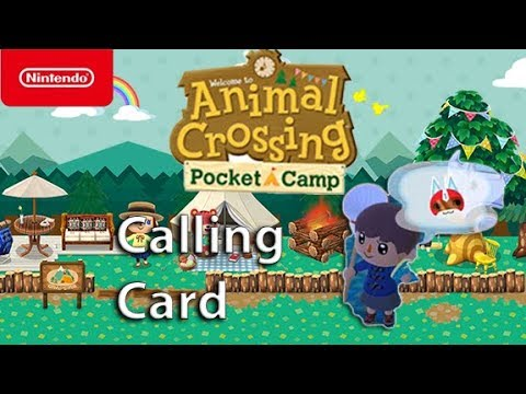 Animal Crossing: Pocket Camp - Calling Card