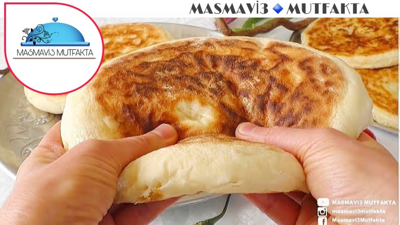 Balon Ekmek (Pita/Bazlama) Tarifi   Hatice Mazı ile Yemek Tarifleri