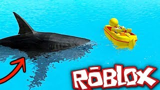 A TIBURON ATTACKS ME IN ROBLOX 😱 💀