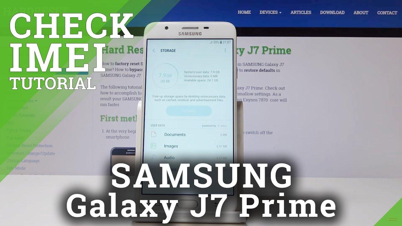 galaxy j7 prime serial number