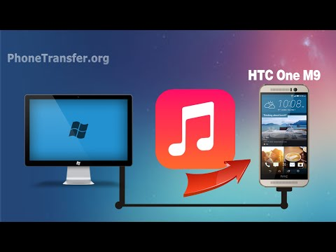 How to Transfer Music from Computer to HTC One M9, Import Songs to HTC One M9+