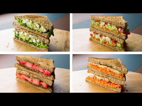 5 Healthy Sandwich Recipes For Weight Loss