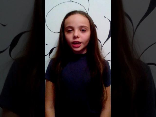 Изображение предпросмотра прочтения – ВалерияШилова читает отрывок изпроизведения «Что такое хорошо и что такое плохо» В.В.Маяковского